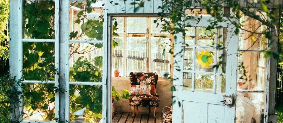Vacanze estive in giardino